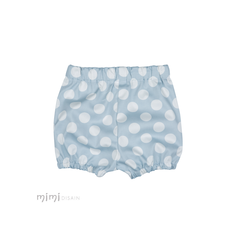 Shorts PUFF Blue Dots