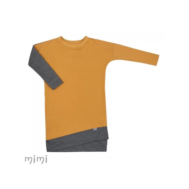 Kleit LILI Mustard
