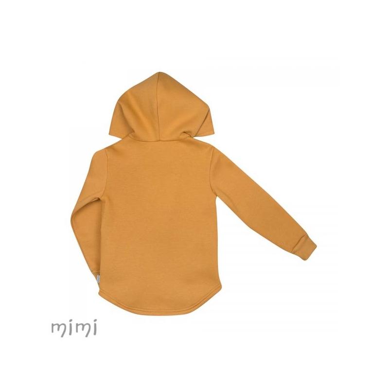 Hoodie RIVER Mustard