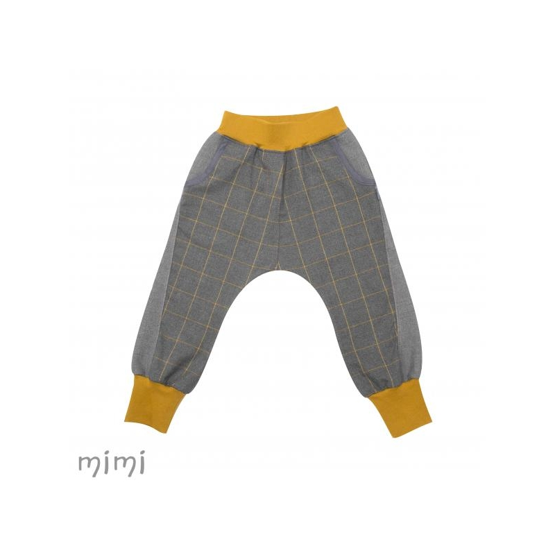 Baggy Pants REBEL Yellow Square
