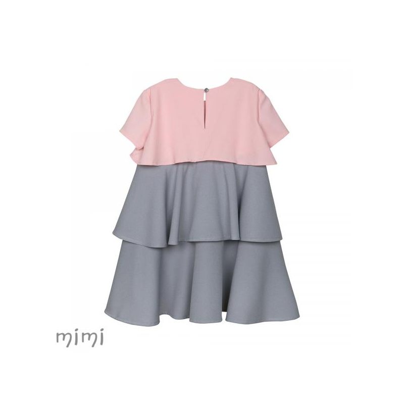 Mimi 3-layer TINKERBELL Dress Grey