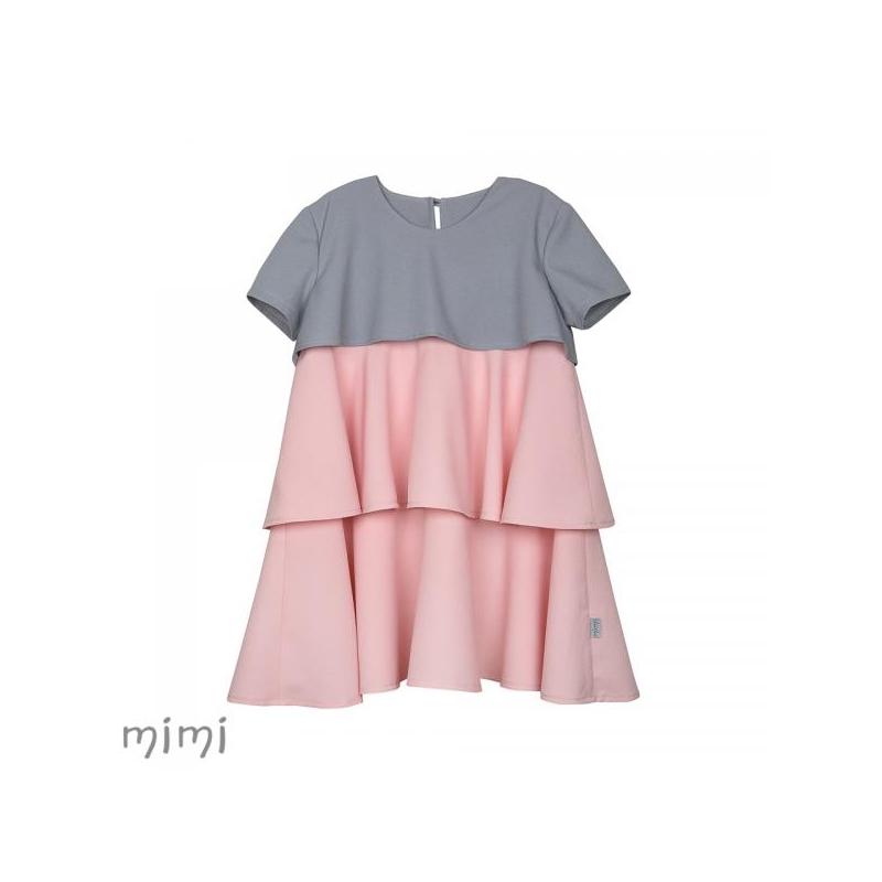 Kleit TINKERBELL Kolmekihiline Roosa