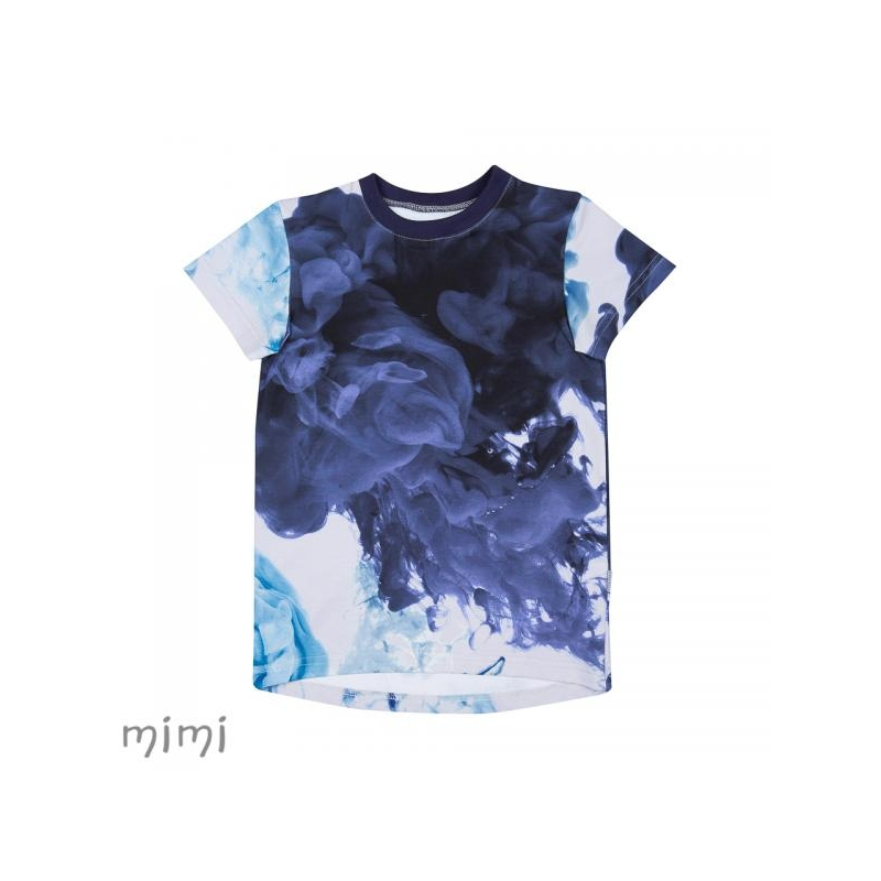 T-shirt LEIF Lava Colour Blue