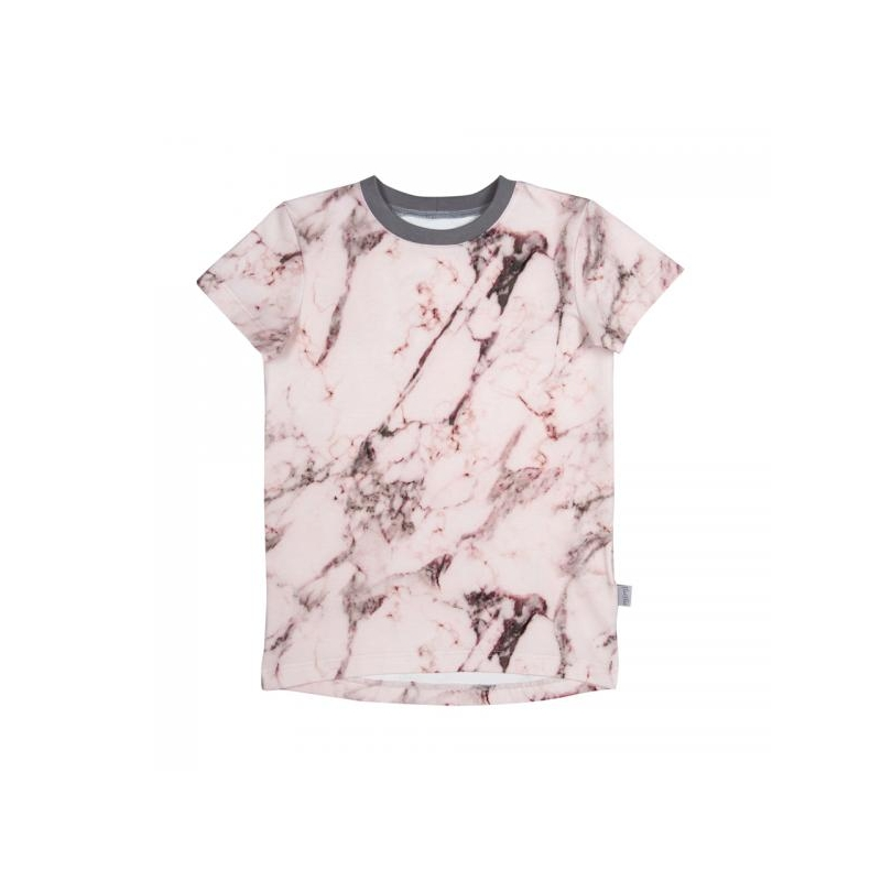 T-shirt LEIF Marmor Pink