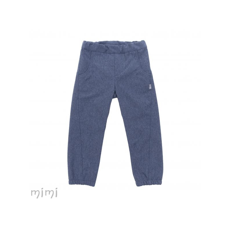 Pants SOFTSHELL Blue Melange