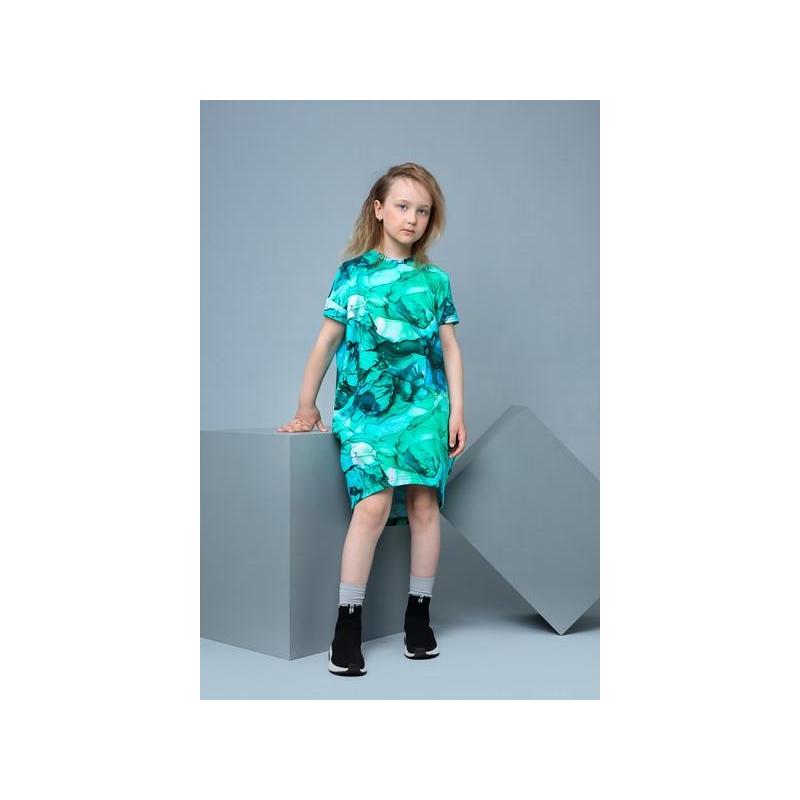 Dress ELYZA Marble Lagoon