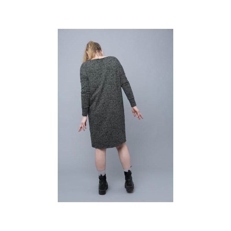 Naiste Kleit Zebra Roheline