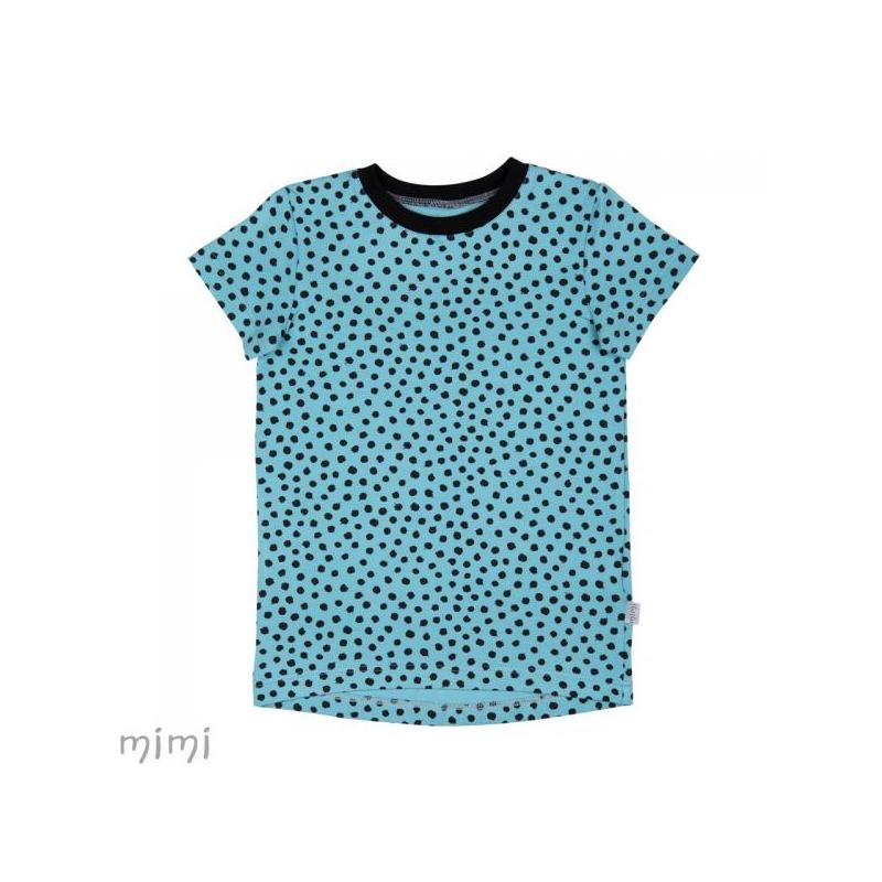 T-Shirt LEIF Dots Blue