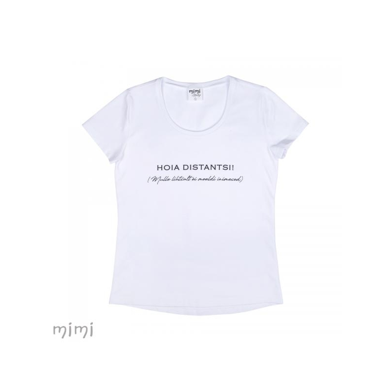 "Mimi x Mallukas T-shirt ""Distants"""