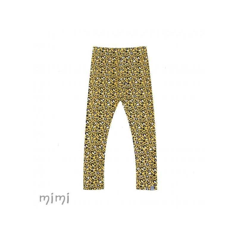 Leggings NORD Leopard Yellow