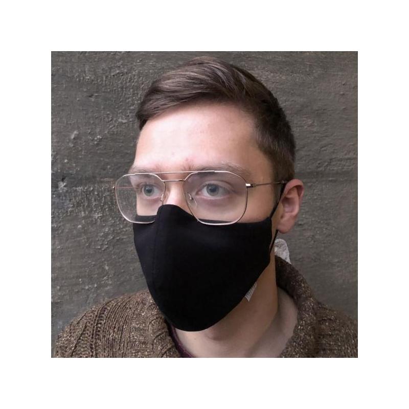 #iwearmimi MASK Täiskavanutele Must (pre-sale, järgmised maskid valmivad 25.11)