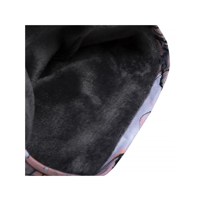 Tube Scarf HUG Pink Marble Furry