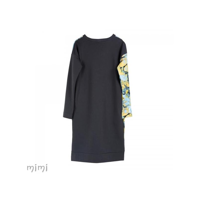 Women's Dress LILI Blue Marble