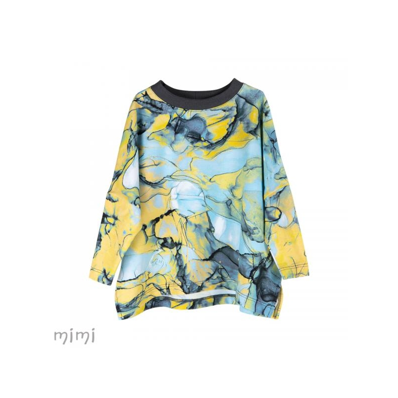 Blouse HETHER Blue Marble