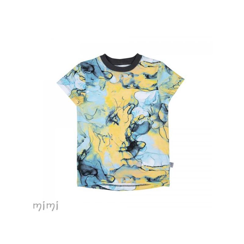 T-shirt LEIF Blue Marble