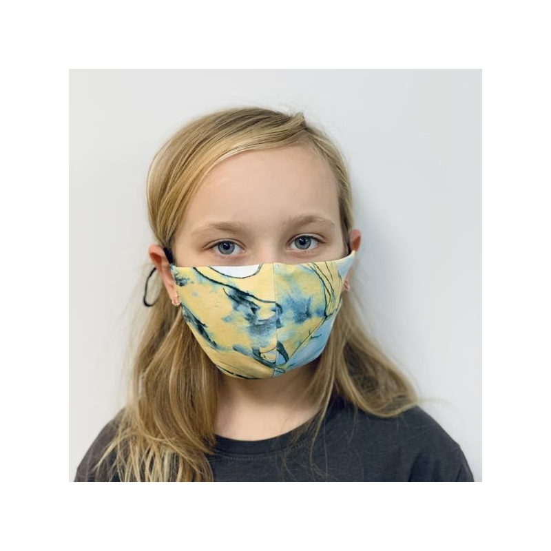 #iwearmimi MASK Kids Blue Marble
