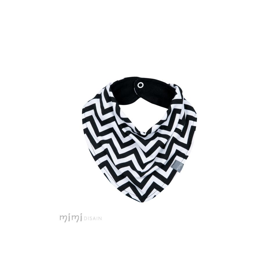 Mimi Bib Black & White