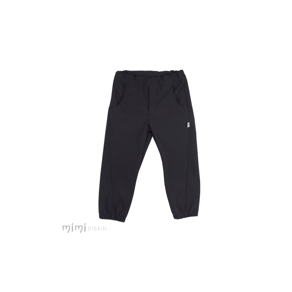 Mimi Softshell Black Pants