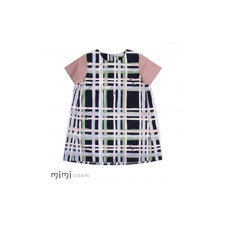 Mimi Cape Dress Pauline