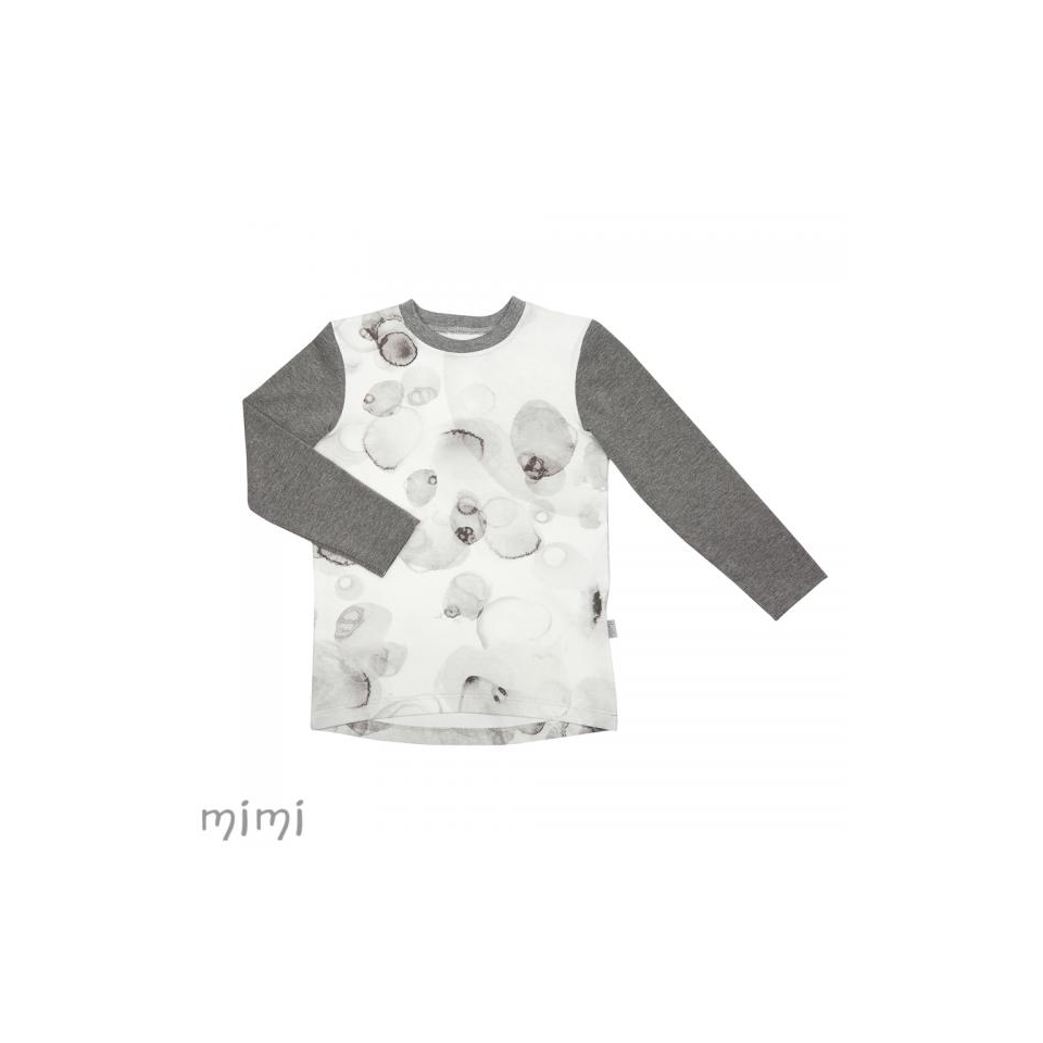 Shirt LINDEN Grey Splash