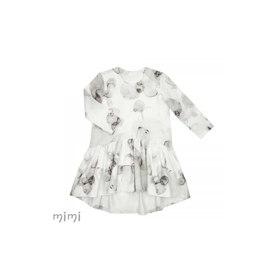 Dress HETA Grey Splash