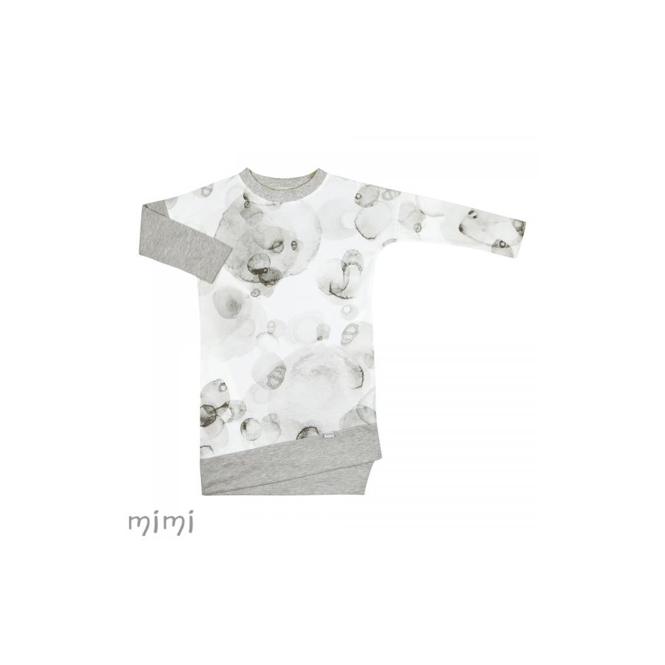 Dress LILI Grey Splash