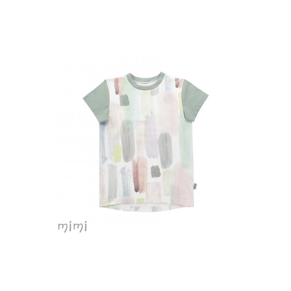 T-shirt LEIF Pastel Brush
