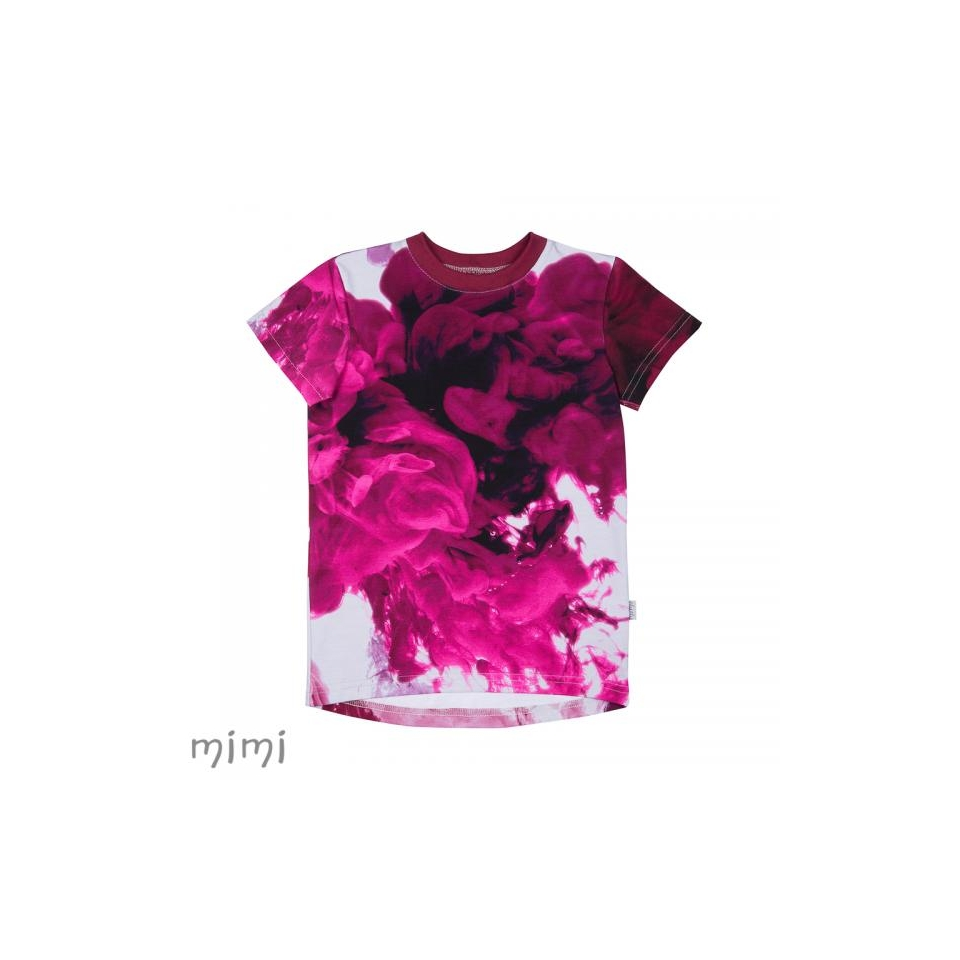 T-shirt LEIF Lava Colour Pink