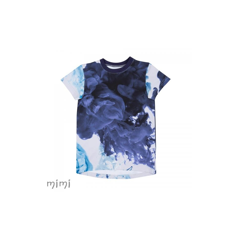 T-shirt LEIF Lava Colour Blue