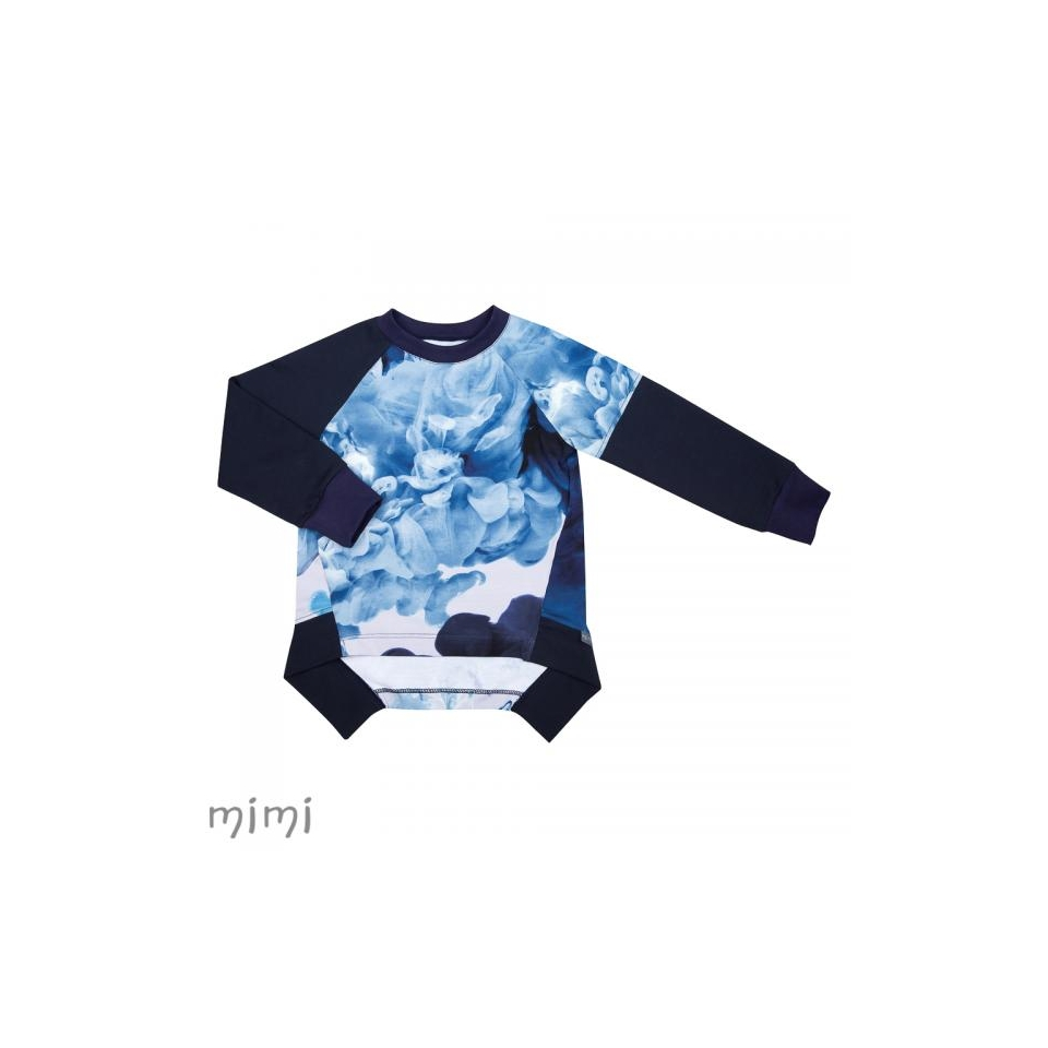 Sweatshirt HUGO Lava Colour Blue