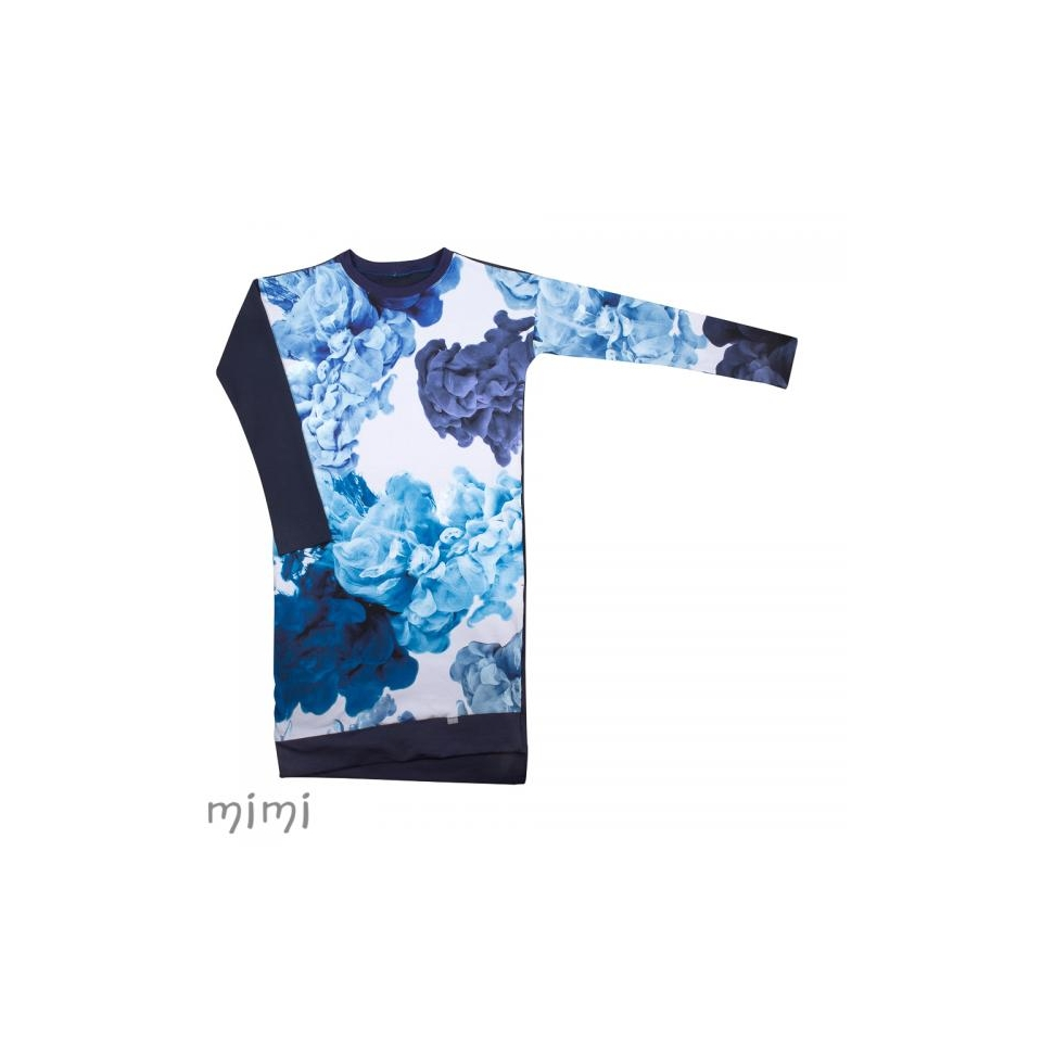 Naiste Kleit LILI Lava Colour Sinine(Postitame alates 20.09)