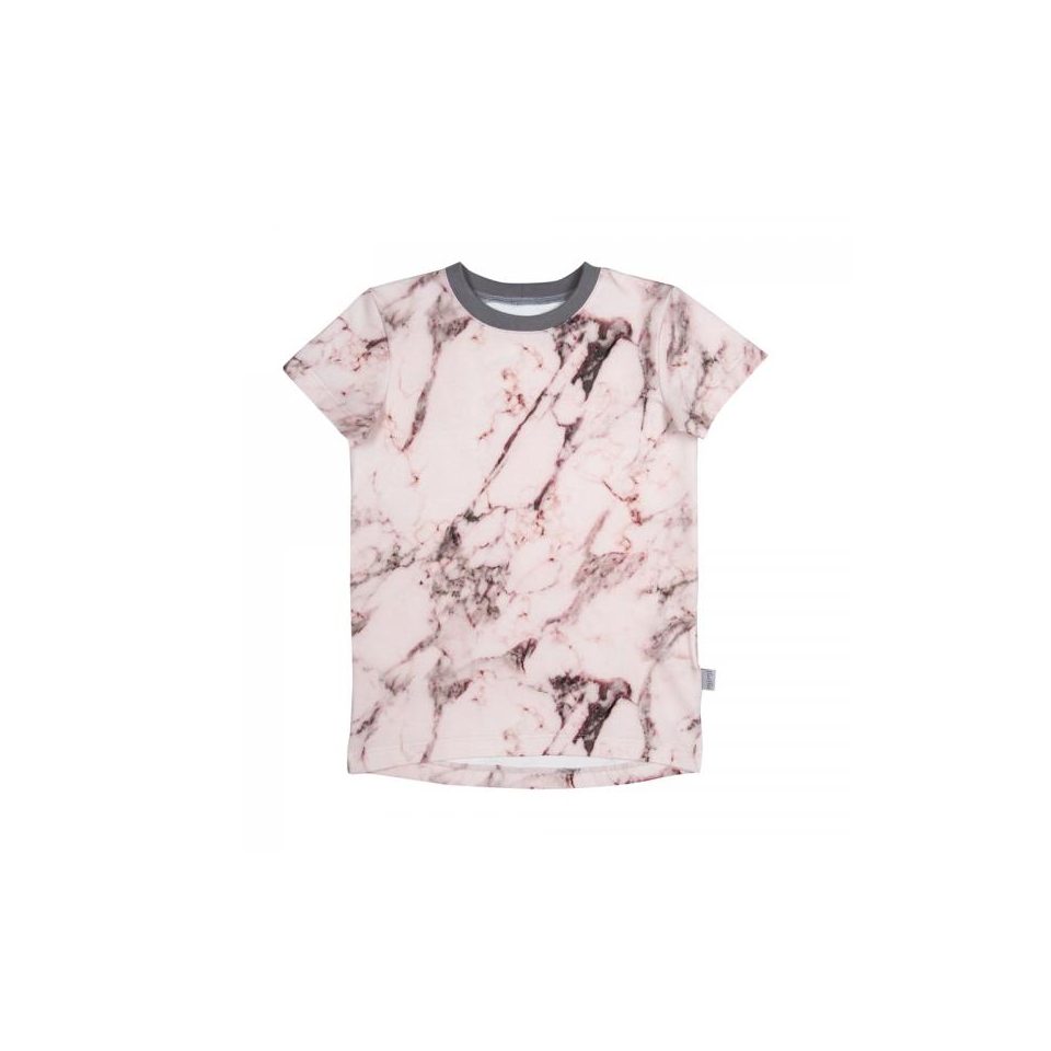 T-shirt LEIF Marmor Pink