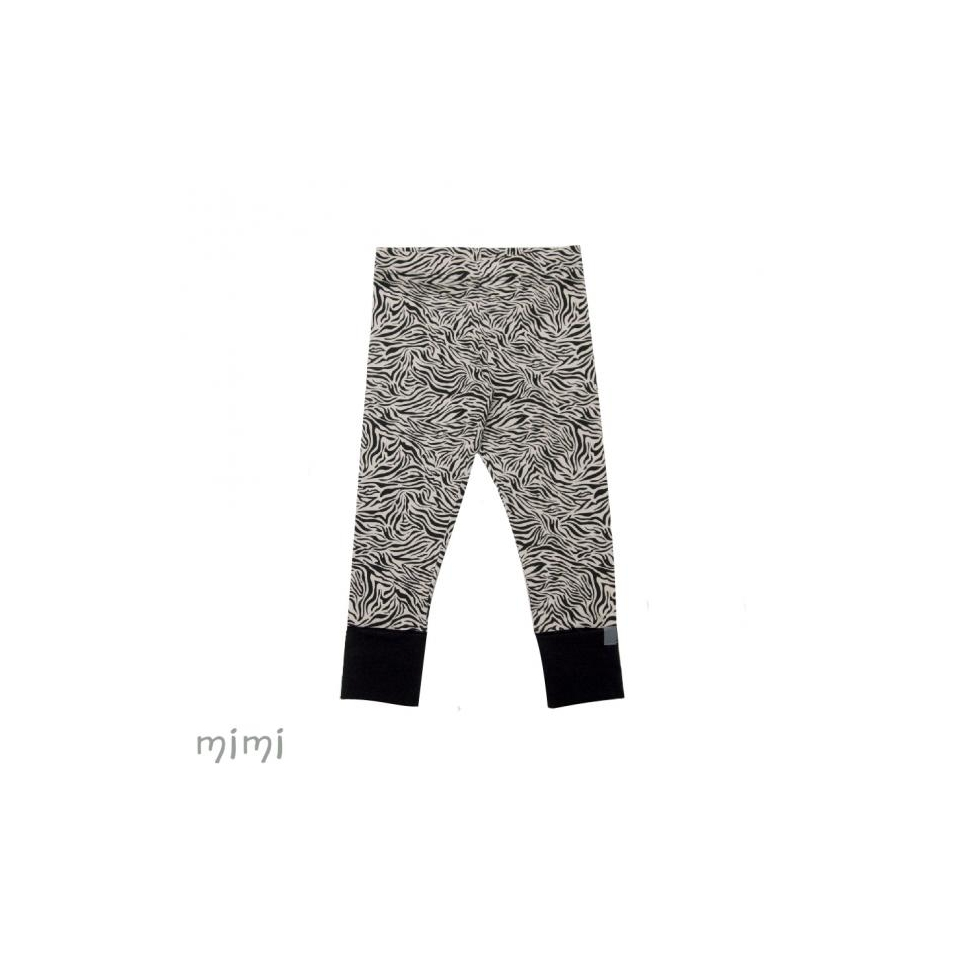 Leggings NORD Zebra Beige