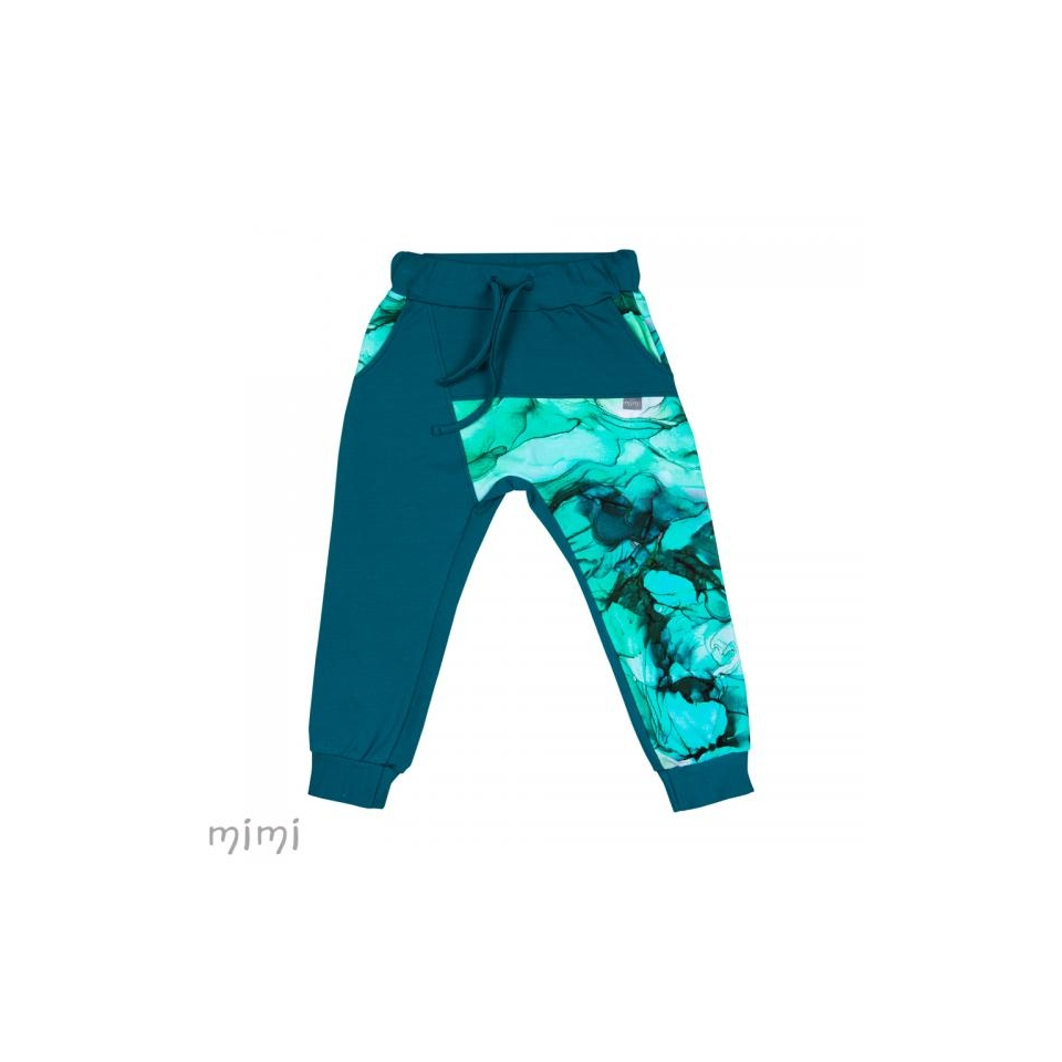 Baggy Sweatpants HUGO Marble Lagoon