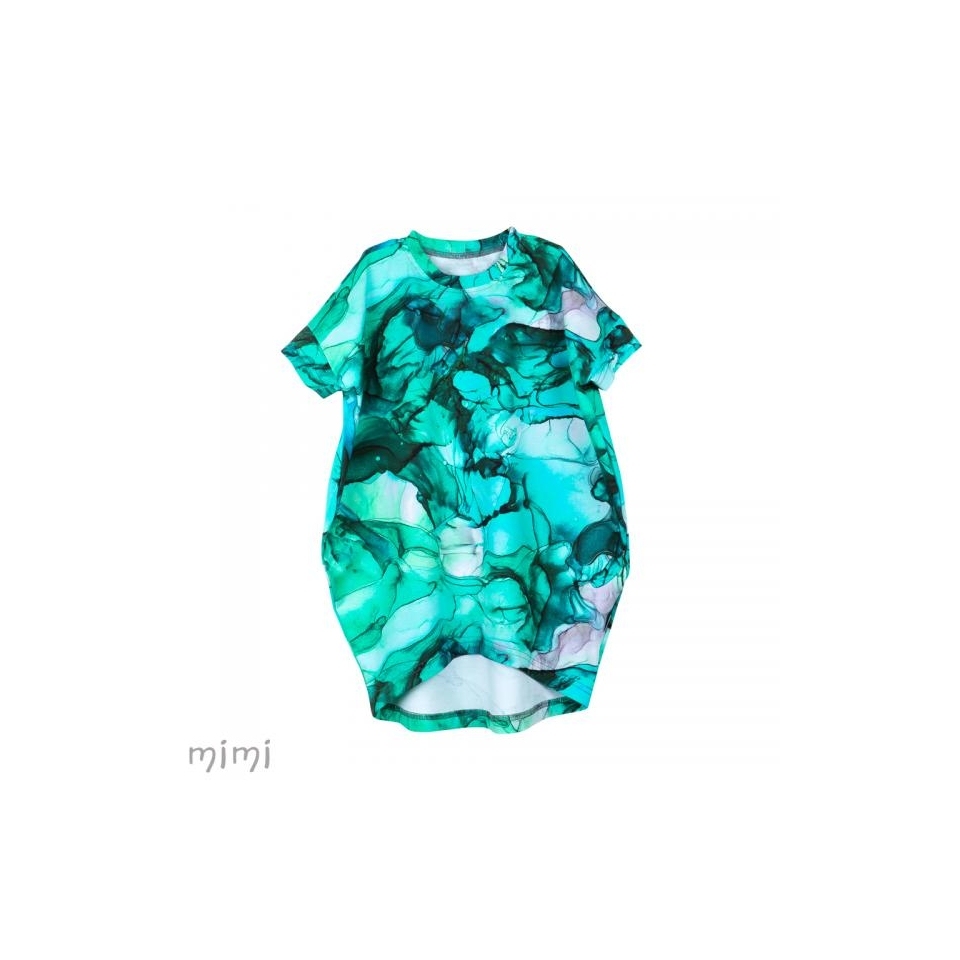 Dress ELYZA Marble Lagoon