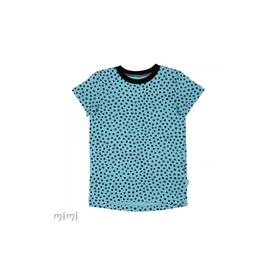 T-Shirt LEIF Dots Blue