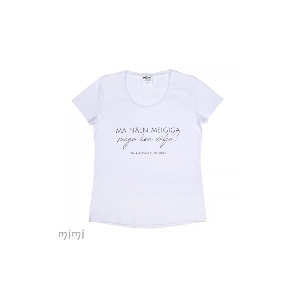 """Mimi x Mallukas T-shirt """"Meigiga"""""""