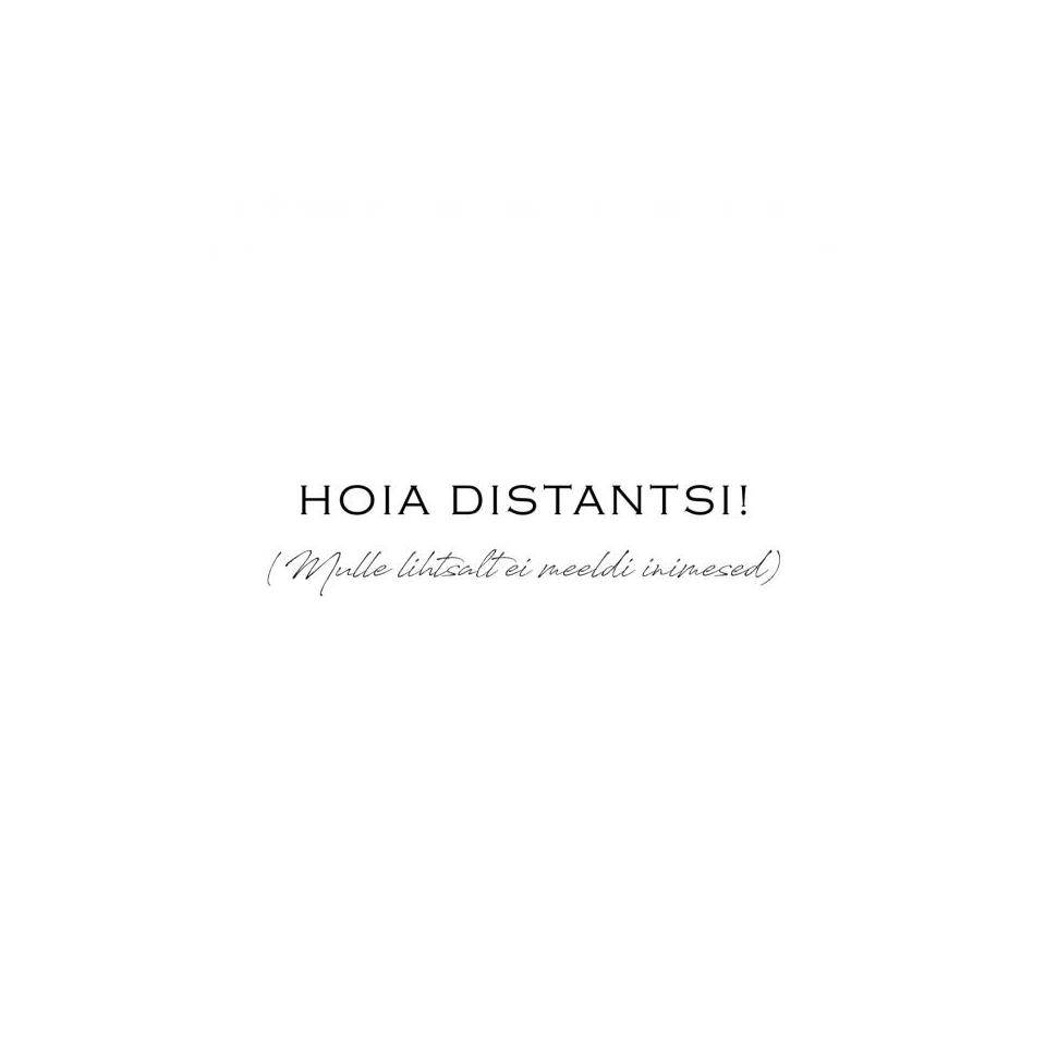 """Mimi x Mallukas T-shirt """"Distants"""""""