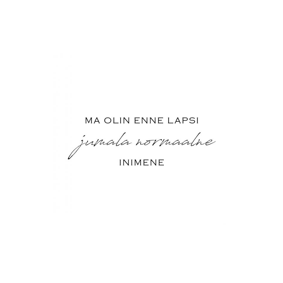 "Mimi x Mallukas T-särk ""Enne Lapsi"""