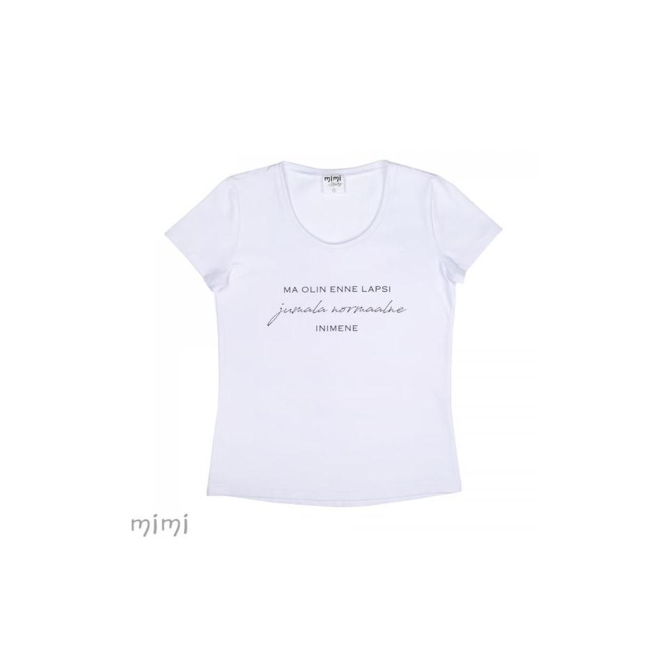 "Mimi x Mallukas T-shirt  ""Enne Lapsi"""