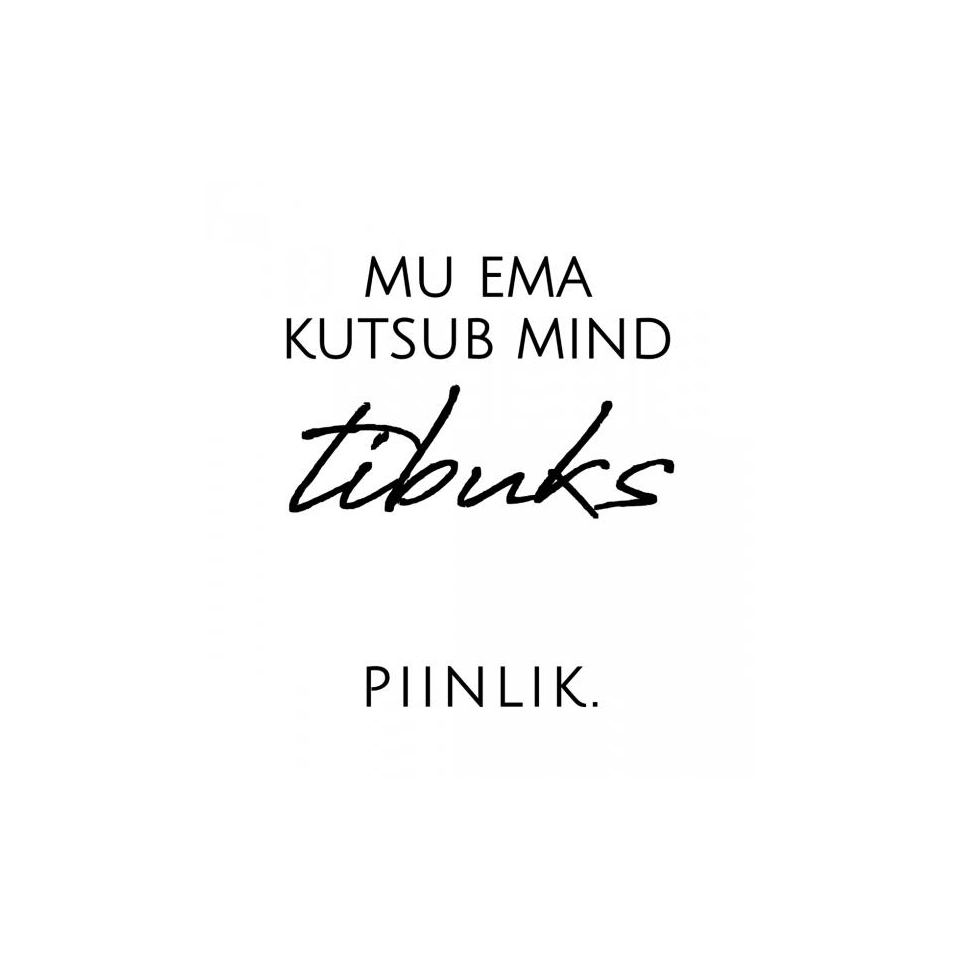 "Mimi x Mallukas Bodi ""Tibu"""