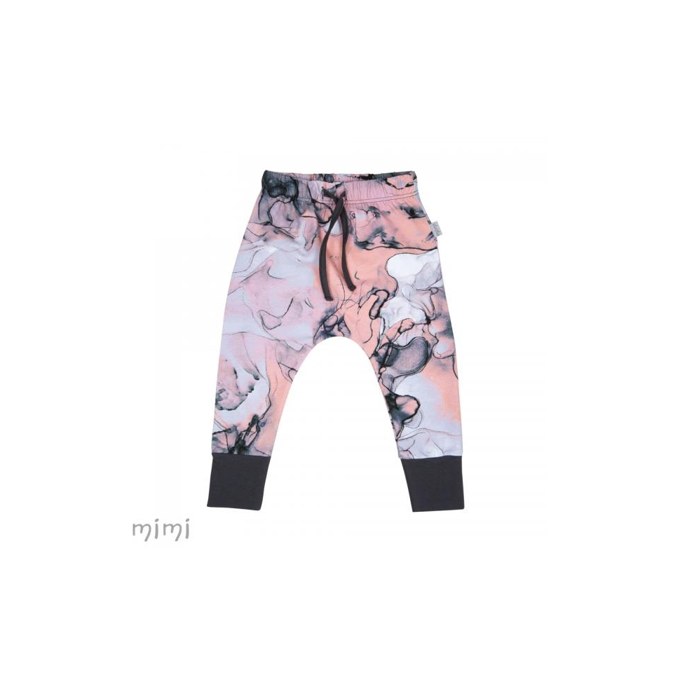 Baby Pants SUTTON Pink Marble