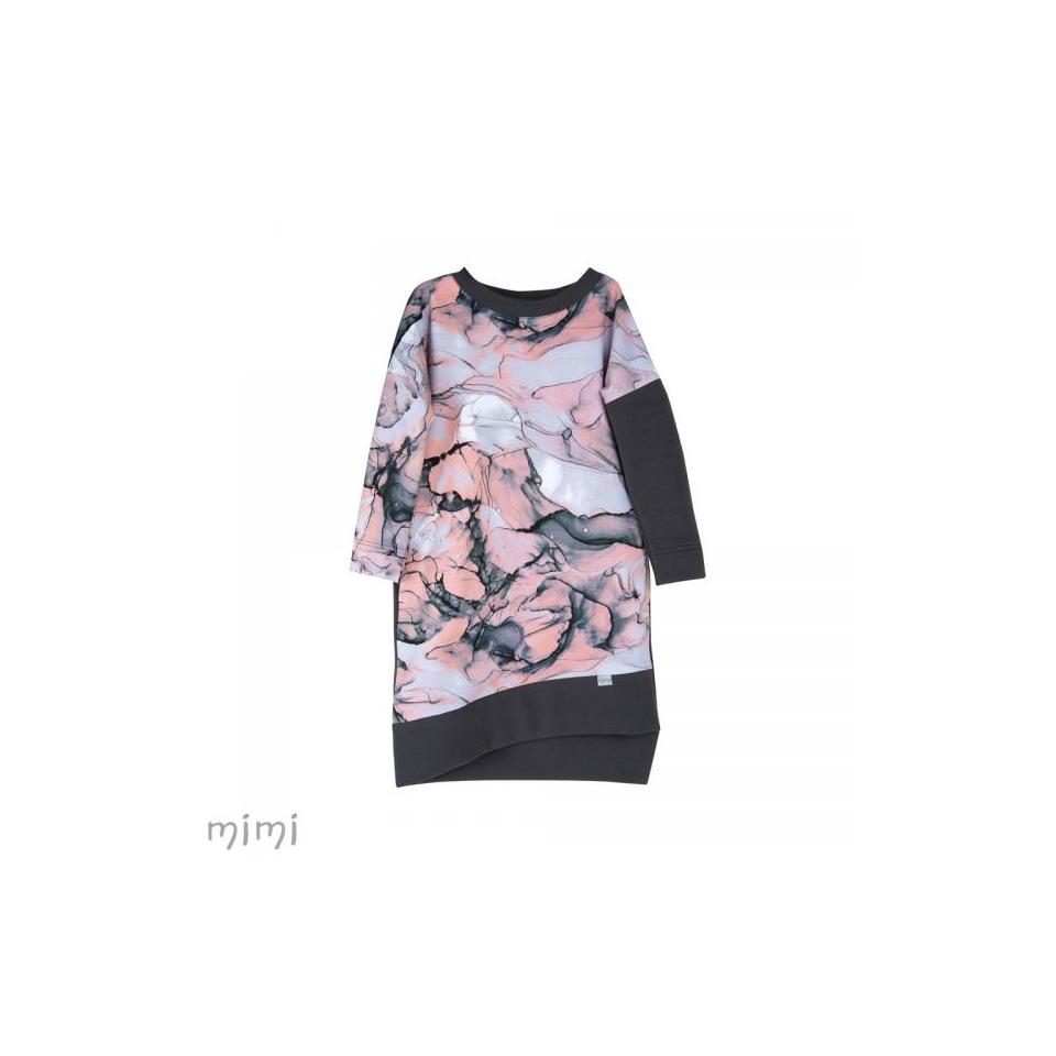 Dress Lili Pink Marble