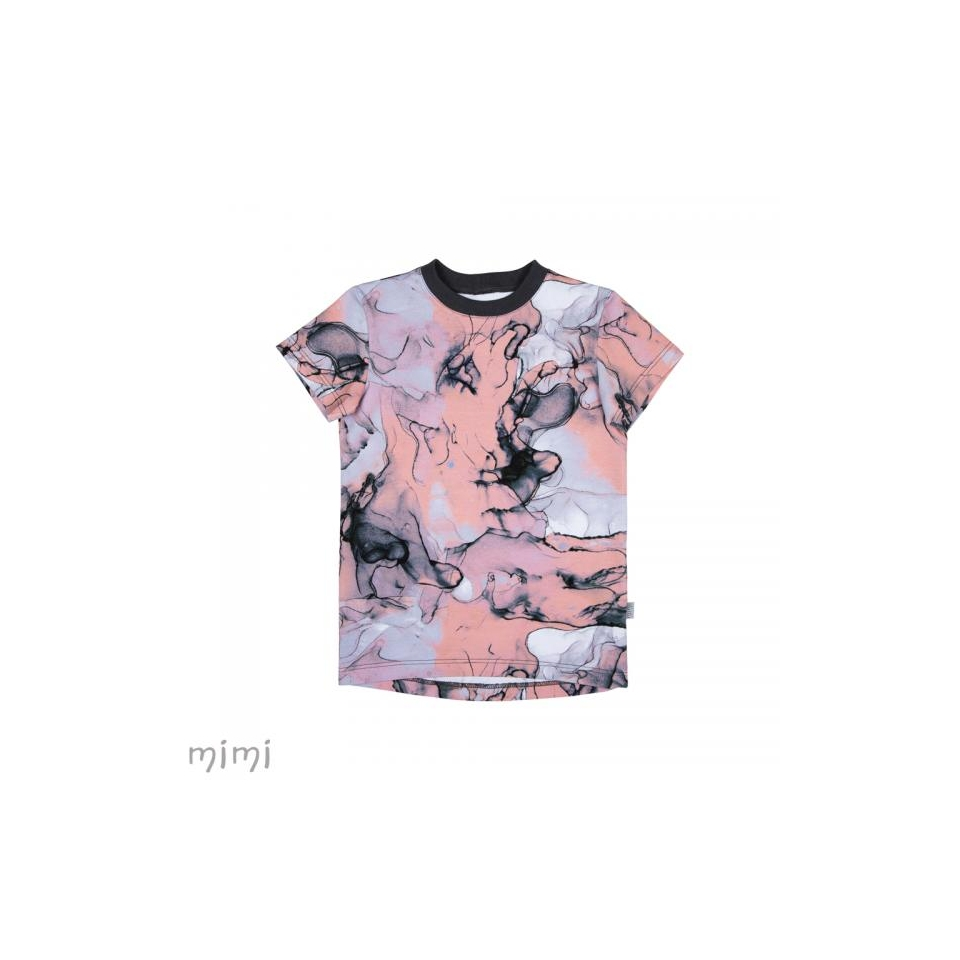 T-shirt LEIF Pink Marble