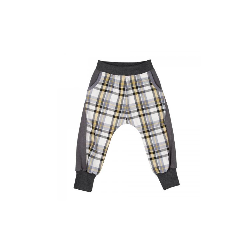 Baggy Pants REBEL Grey Checked