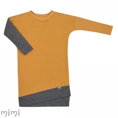 Dress LILI Mustard