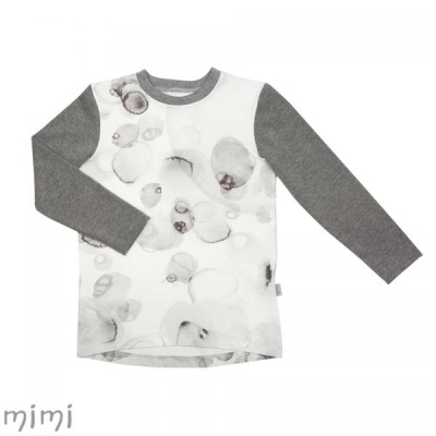 Shirt LINDEN Grey Splash