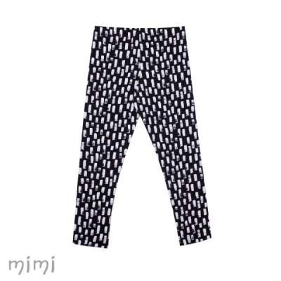 Leggings SAUT White Marker