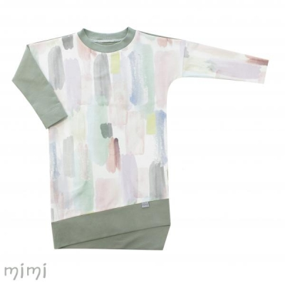 Women's Dress LILI Pastel Brush
