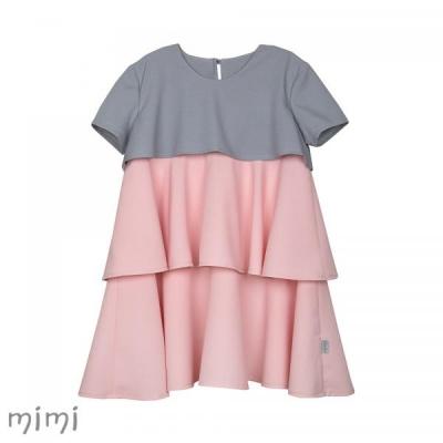 Mimi 3-layer TINKERBELL Dress Pink